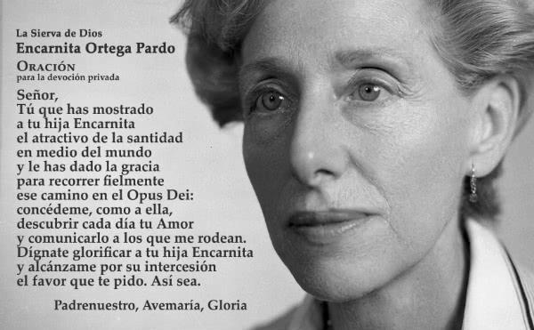 Sierva de Dios Encarnita Ortega - OpusDei