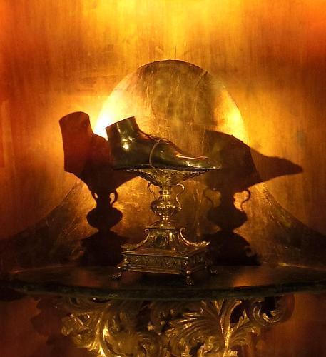 Reliquia del Pie de Santa María Magdalena